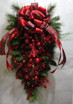 CHRISTMAS WREATHSHOLIDAY swags by Celestialangelting on Etsy