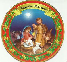 Sagrada Familia en propaganda empaque de galletas