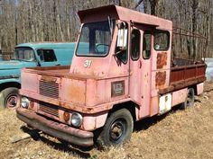 Offset Oddball: 1965 Chevrolet Pipe Truck - http://barnfinds.com/offset-oddball-1965-chevrolet-pipe-truck/