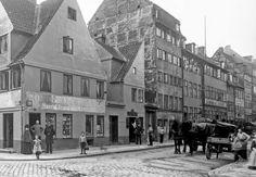 Wildersgade i 1898. Foto Johannes Hauerslev.