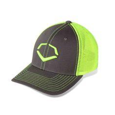 Evoshield Trucker Flex Fit Hat Neon Fly Collection Neon Yellow Charcoal  1033312. Flex Fit HatsOrange ... 074e4bf06305