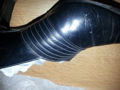 Womens leather court shoes 1940