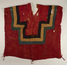Peru | South coast | Early Intermediate, Nasca | Woven poncho | A.D. 400–800 | 207.0 cm., w. 106.0 cm. (81 1/2 x 41 3/4 in.)