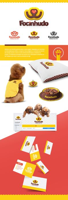 Focinhudo | Produtos Pet on Behance