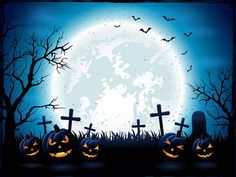 Kate Halloween Backdrop for Pictures Moon Bat Tree Backdrop