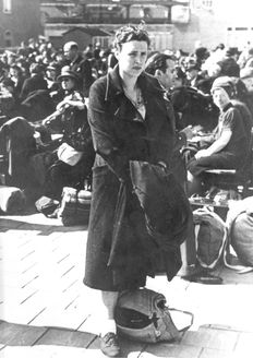 Amsterdam, Netherlands, Deportation to the Westerbork death camp, July 1942.
