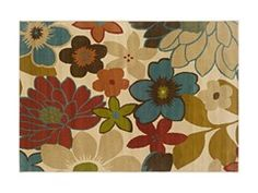 Addison Area Rug Floral - 4 Sizes