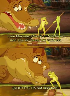 Funny Princess and the Frog