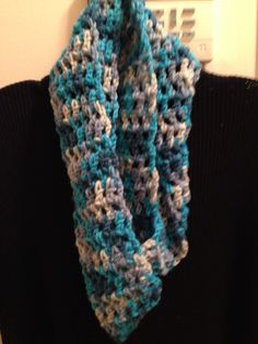 Crotchet scarf  wrap around