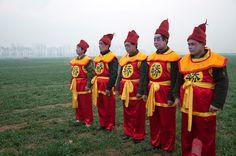 Majie village fair Baofeng county Henan province C