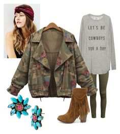 """""""For a Day."""" by xoxo-bng on Polyvore featuring H&M, Breckelle's and Betsey Johnson"""