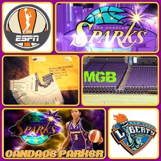 YOUR INVITED! We are expecting over 200 from MGB friends and families! GAME BROADCASTED LIVE ON ESPN2! Sparks vs. Liberty June 7 Huge event since it's the 20th Anniversary Game for the Sparks! Potential celebrities and WNBA/NBA players going!  Who can come: MGB Players Families and Friends ANYONE reading this!  Where:  STAPLES Center  1111 S. Figueroa Street  Los Angeles CA 90015  meet at the 11th street ENTRANCE OF STAPLES CENTER. We will meet with my WNBA/Sparks contact for On the Court…