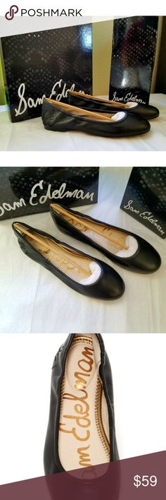 Sam Edelman leather ballet flats brand new in box Brand new in box. Size 8.5 Sam Edelman Shoes Flats & Loafers