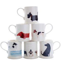 Dogs Mug Set