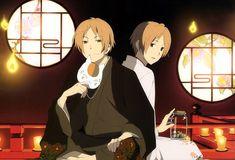 Tags: Anime, Natsume Yuujinchou, Nyanko-sensei, Natsume Takashi, Artist Request