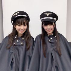 問題となった欅坂46のナチス風衣装(公式ブログから) - Yahoo!ニュース(BuzzFeed Japan)