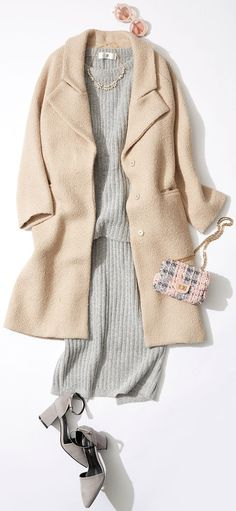 今週のレッスン:ロングコートを着る日のコーディネート(ルミネエスト新宿) | LUMINE MAGAZINE