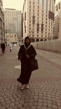 At street front hotel,madinah,saudi arabia