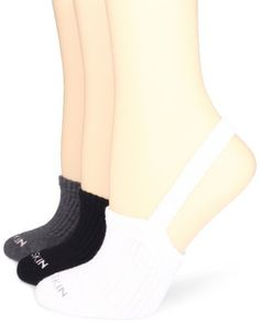 Danskin Women's 3-Pack Warm-Up Sling-Back Half Sock, Rich Black/White/Charcoal, One Size Danskin. $12.00. 71% Cotton/23% Polyester/5% Rubber/1% Spandex. Terry loop cushioned inside. 3-pak includes a pair in, black, white, and charcoal grey heather.. Made in China. Rib knit strap to stay on foot. Machine Wash. Rib compression for support