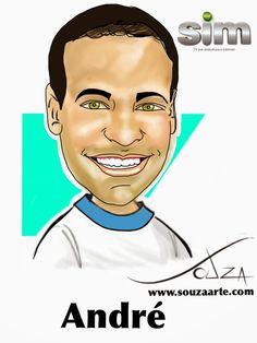 Evento para a TV Sim - Caricatura em Canecas http://www.souzaarte.com/#!untitled/cnfd