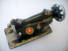 Vintage Mercedes Sewing Machine Very RARE Made in Germany Great Condition