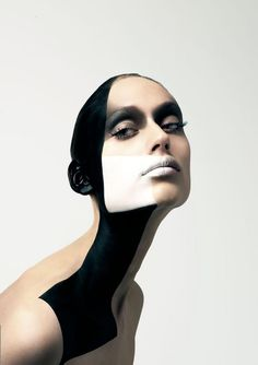 futuristic portrait #makeup #beauty