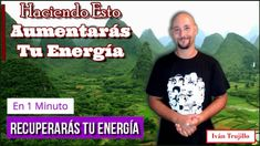 Respira Así y Aumentarás Tu Energía en 1 Minuto - YouTube Qigong, Tai Chi, Mudras, Reiki, Vertigo, Health, Mens Tops, Youtube, Health Tips