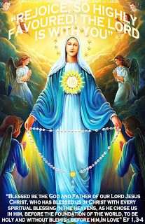 "THE WORD OF  THE LORD -  GOSPEL YEAR B: "" IMMACULATE CONCEPTION  OF MOST  BLESSED V. MARY""..."