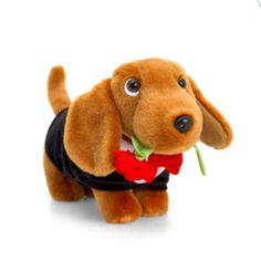 Egy igazi úriember, vagyis tacskó :) Valentines Day, Teddy Bear, Toys, Animals, Valentine's Day Diy, Activity Toys, Animales, Animaux, Valantine Day