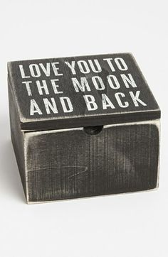 Primitives by Kathy 'Love You to the Moon' Box available at #Nordstrom