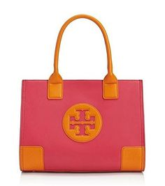 Tory Burch Mini Ella Tb Logo Handbag Dragon Fruit Tory Orange Leather Pebbled - http://bags.bloggor.org/tory-burch-mini-ella-tb-logo-handbag-dragon-fruit-tory-orange-leather-pebbled/