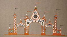 Inspiración en cortijos y haciendas Dibujo de la portada del año 1979 #FeriaSevilla.
