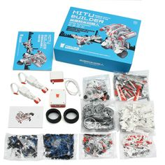 Xiaomi MITU DIY Mobile Phone Control Self-assemble Robot  for Kids Toy Gift Rc Robot, Robots For Kids, Robotics, Phone, Toys, Hobbies, Gift, Activity Toys, Robots