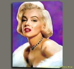 Marilyn Monroe is one of the most famous Hollywood icons of the twentieth century. There is no guessing why this gorgeous bombshell was envied. Hollywood Glamour Bedroom, Kitchen Artwork, Marilyn Monroe Art, Glam Bedroom, Hollywood Icons, State Art, Oil Painting On Canvas, Celebrities, Pigment Ink