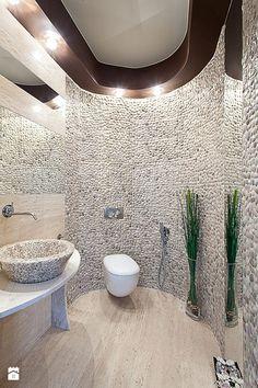 Kamienna toaleta - zdjęcie od Fabryka Wnętrz - Łazienka - Styl Nowoczesny - Fabryka Wnętrz