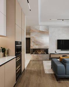 Home Room Design, Dream Home Design, House Design, Modern Interior Design, Interior Architecture, H Design, Dream Apartment, House Rooms, Home Living Room