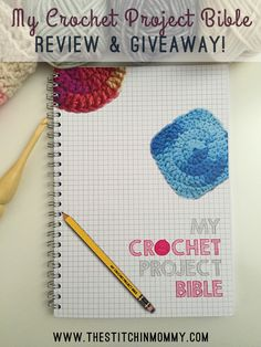 How Cool is this??? I want one too!!!   My Crochet Project Bible Review and Giveaway | www.thestitchinmommy.com