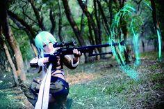 Sword Art Online-Sinon - Stityo(史迪悠 小悠) Sinon Cosplay Photo - WorldCosplay