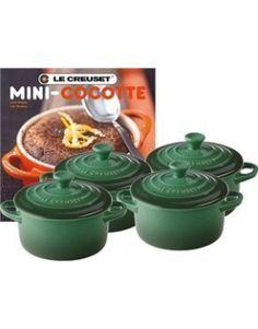 Le Creuset Set Of 4 Mini Cocottes Colors