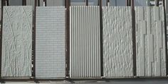 Concrete facade cladding - Alfanar