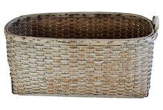 Painted Basket on OneKingsLane.com