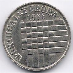 Portugal 25 Escudos 1986 Veiling in de Portugal,Europa (niet of voor €),Munten,Munten & Banknota's Categorie op eBid België