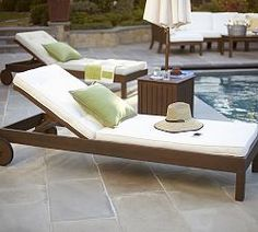 1000 images about outdoor chaise lounges on pinterest - Chaises longues piscine ...