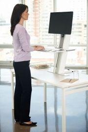 Human Scale Quick Stand staand werken op bestaande werkplek 100978 model 1