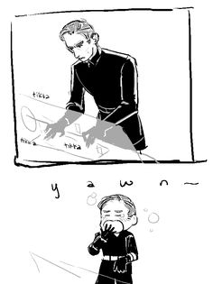 I feel like General Hux needs more attention. I'm sure he believes that too. Teehee