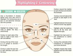 20 Highlighting and Contouring Hacks, Tips and Tricks