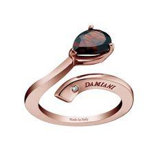 """Коллекция """"Eden"""". Кольцо из розового золота с бриллиантом."""