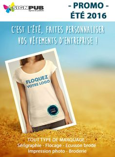 Marquage Textile  – Été 2016 | Signpub Textiles, T Shirt, Tops, Women, Fashion, Flocking, Supreme T Shirt, Moda, Tee Shirt