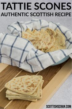 This traditional Scottish tattie scones recipe includes a step-by-step method to help you make the perfect potato scones!