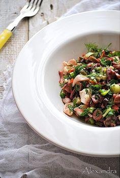 Salada de Polvo Octopus Salad